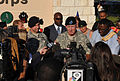 Robert W. Cone gives press briefing at Fort Hood 2009-11-06.JPG