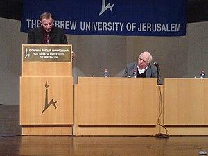 Robert S. Wistrich - Robert Wistrich (left) and Bernard Lewis, 2007
