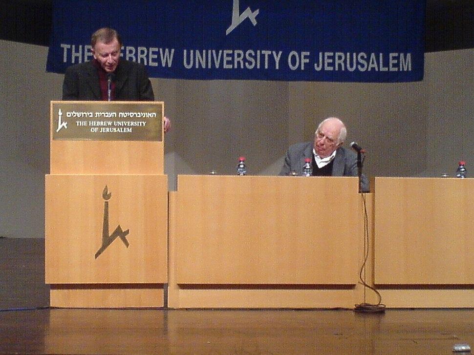 Robert Wistrich and Bernard Lewis