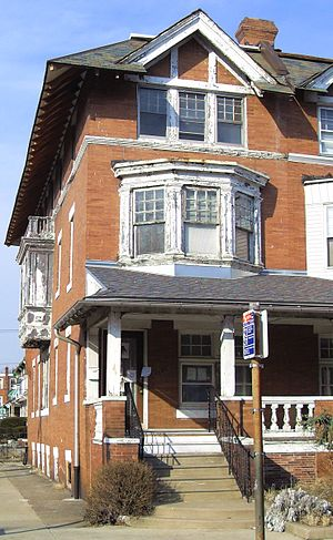 Paul Robeson House (Philadelphia) - 4951 Walnut Street, Philadelphia (2009)