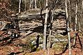Rock formation in Fairmount Township, Luzerne County, Pennsylvania 2.JPG