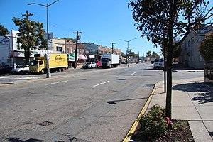 Rockaway Boulevard - Image: Rockaway Boulevard @ 175th Street, Queens, Oct 2017