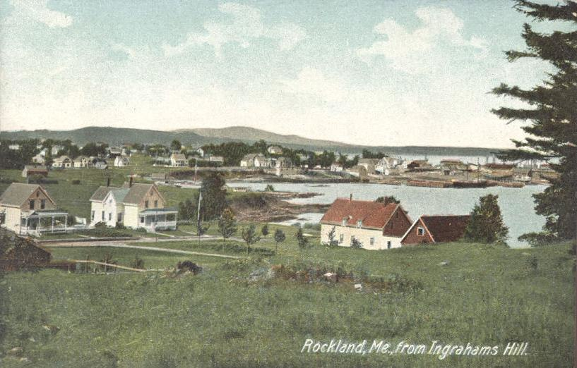 Rockland, ME from Ingraham%27s Hill