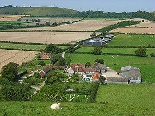 Maiden Bradley village in Wiltshire, England