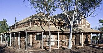 Roebourne, Western Australia - Image: Roebourne Courthouse, G Temple Poole (1886)