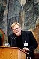 Rolf Reikvam, Norges delegation till Nordiska radet, talar under plenum i Kopenhamn 2006.jpg