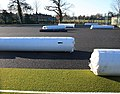 Rolls of synthetic grass, Chase High School - geograph.org.uk - 1173221.jpg