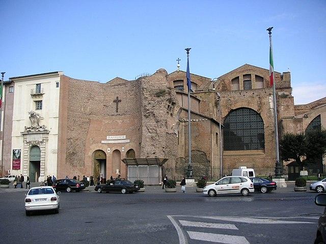Santa Maria degli Angeli e dei Martiri. Fuente: Wikipedia
