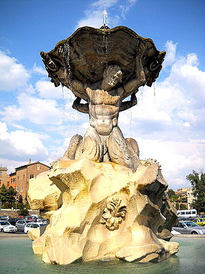 Fountain of the Tritons - The Fountain of the Tritons