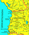 Roman Empire Map 150 AD Epirus Nova or Illyria Graeca by Alexander Findlay.png