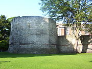 Roman Fortifications in Museum Gardens York