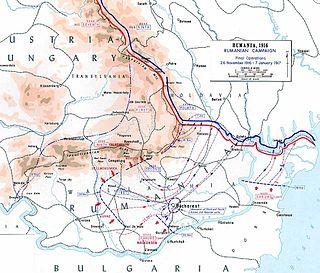 Romanian WWI operation