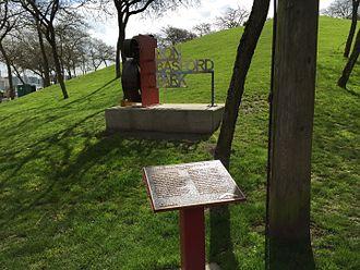 Ron Basford - Hill is centre of Ron Basford Park in Granville Island