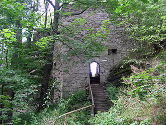 Großer Waldstein - Ruins of the Red Castle