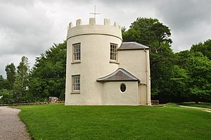 The Kymin - Image: Round House on the Kymin, Monmouth (0146)
