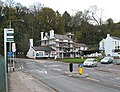 Roundabout near The Mayhill Hotel, Monmouth - geograph.org.uk - 618247.jpg