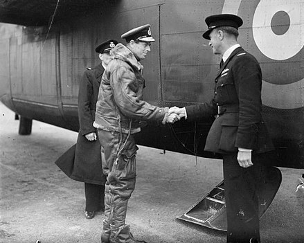 The Duke of Kent before he crossed the Atlantic by air Royal Air Force Ferry Command, 1941-1943. CH3161.jpg