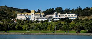 Royal New Zealand Police College - The Royal New Zealand Police College  viewed from Aotea Lagoon