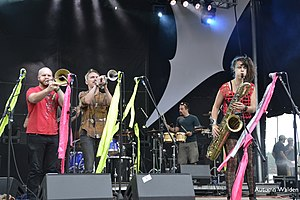 Rubblebucket - Rubblebucket at the All Good Music Festival in 2010