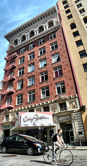 Ruby Skye - Ruby Skye nightclub in the Native Sons of the Golden West building.