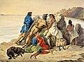 Rudolf Friedrich Kurz - Potawatomi-Indianer am Missouri (St. Joseph) 1853.jpg