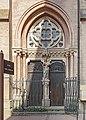Rue des Fleurs (Toulouse) no 22 bis l'entrée de l'église du Gésu.jpg
