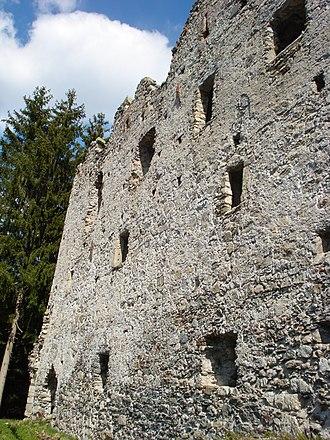 Rasen-Antholz - Ruins of Altrasen Castle