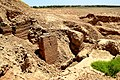 Ruins of the lower part of the ziggurat and temple of Nabu at Borsippa, Babel Governorate, Iraq.jpg