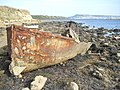 Rusting Boat, The Fleet - geograph.org.uk - 1476583.jpg