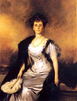 Elizabeth Livingston Cavendish-Bentinck - Elizabeth's twin sister, Ruth, by Francois Glamony