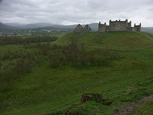 Siege of Ruthven Barracks (1745) - Image: Ruthven Barracks geograph.org.uk 14443