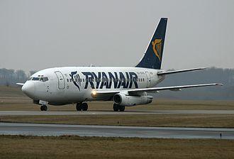 Ryanair - Ryanair Boeing 737-200 in 2003