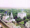 Ryazan Spassky Monastery with south-west 1912 Prokudin-Gorsky.jpg