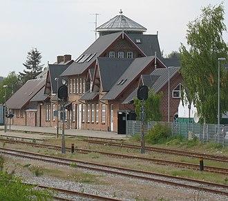 Ryomgård station - Ryomgård station