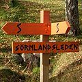 Sörmlandsleden skylt 2011.jpg