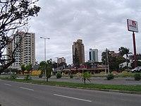 vista de la ciudad de Santa Cruz de la Sierra la segunda aglomeración urbana del país
