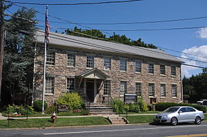 Delaware Township, Hunterdon County, New Jersey - Township municipal building in Sergeantsville