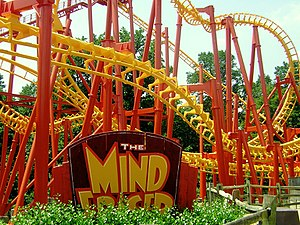 Six Flags America - Image: SFA Mind Eraser 2