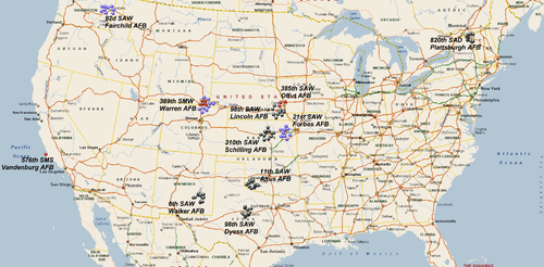SM Atlas Wikipedia - Map of us nuclear missile silos