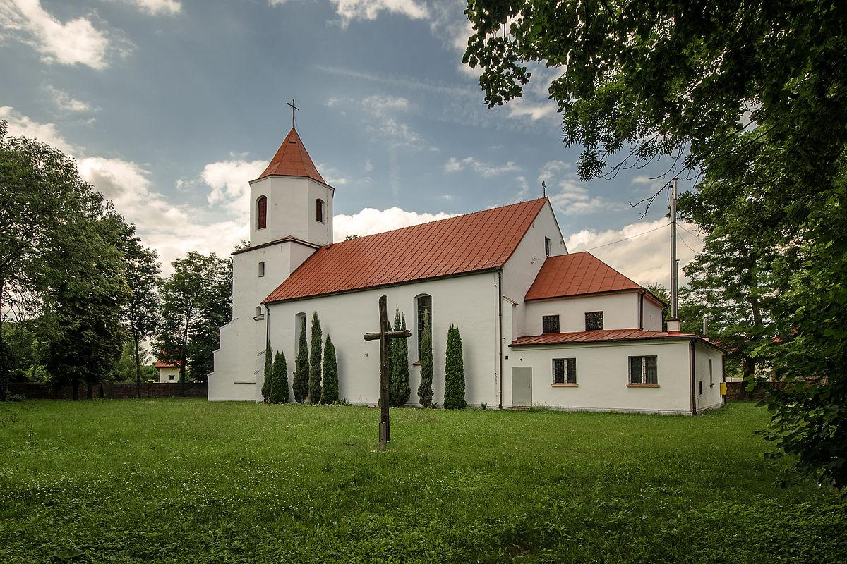 Znalezione obrazy dla zapytania kościoł obora