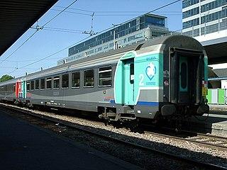 Corail (train) French railway coach