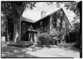 SOUTHWEST VIEW OF EXTERIOR - Hunt-Hosmer House, Lowell Road, Concord, Middlesex County, MA HABS MASS,9-CON,15-1.tif