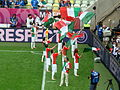 SPA-ITA Euro 2012 Italy flag wavers.JPG