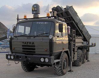 Python (missile) - SPYDER – Missiles Firing Unit
