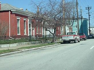Smoketown, Louisville - Logan Street in Smoketown