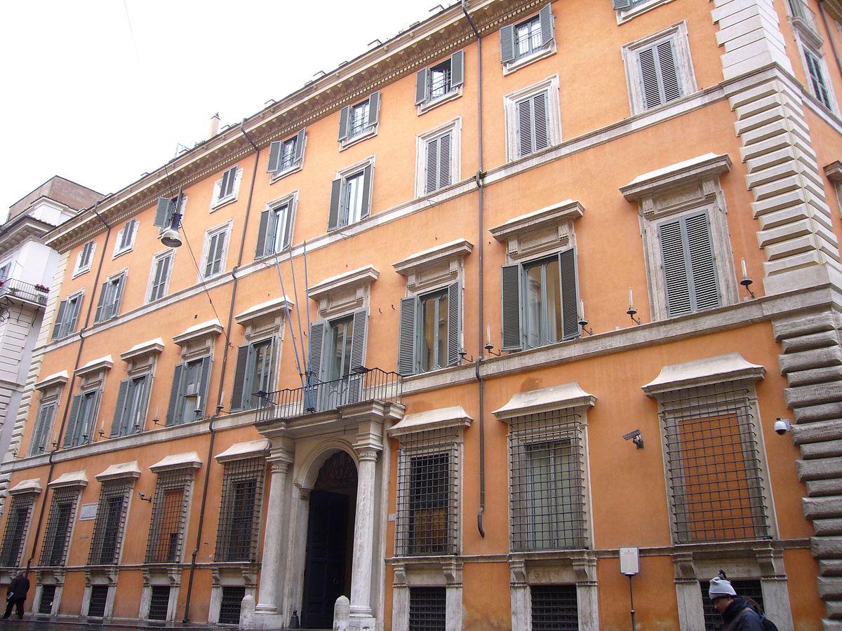 Palazzo giustiniani roma wikipedia for Sede senato italiano