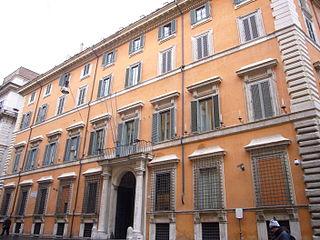 Palazzo Giustiniani, Rome palace in Rome, Italy