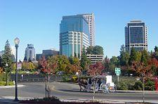 Sacramento from Riverwalk