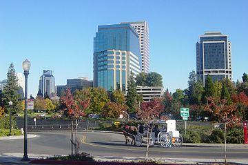 Sacramento, la capitale de la Californie.