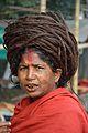 Sadhvi - Gangasagar Fair Transit Camp - Kolkata 2014-01-05 5624.JPG